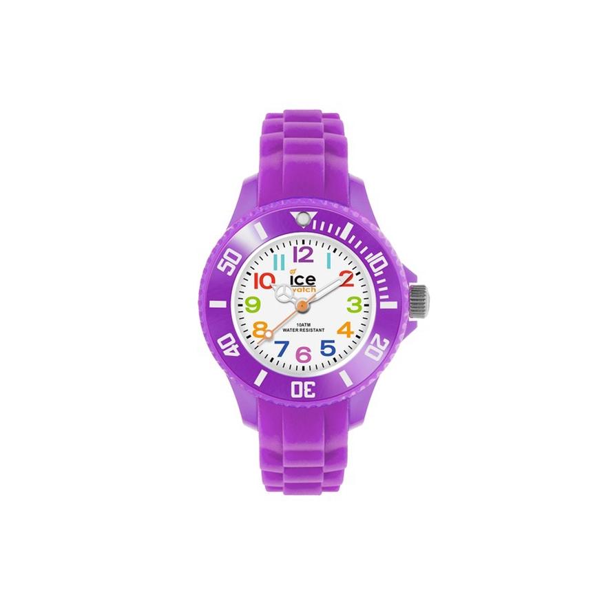 montre ice watch mini purple 000788 pour enfant bebe. Black Bedroom Furniture Sets. Home Design Ideas