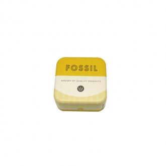 Boucles d'oreilles Fossil Vintage Glitz acier et cristaux JF02314040
