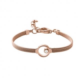 Bracelet Skagen Elin acier doré rose SKJ0851791