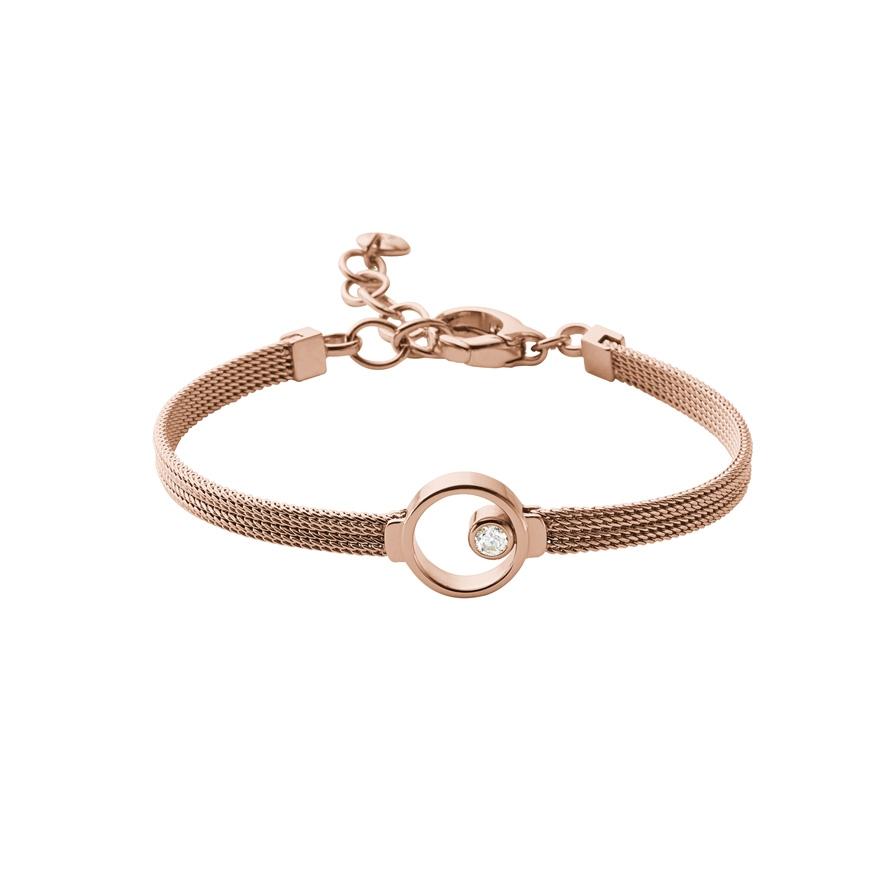 bracelet skagen elin acier dor rose skj0851791 pour femme. Black Bedroom Furniture Sets. Home Design Ideas