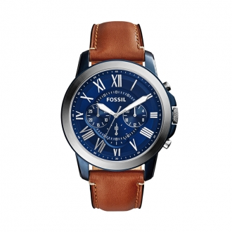 Montre Fossil Grant marron clair FS5151