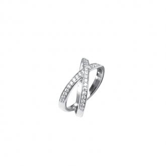 Bague Silver Pop deux anneaux Argent 925/000