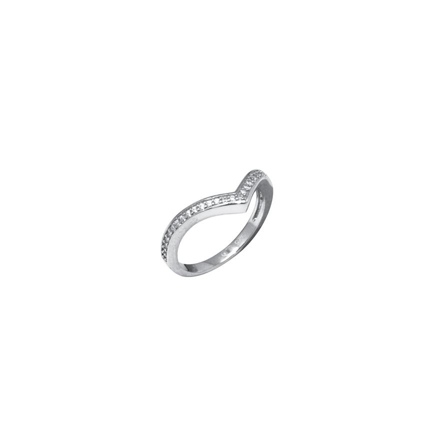 bague en argent 925 000 silver pop anneau simple pour femme. Black Bedroom Furniture Sets. Home Design Ideas
