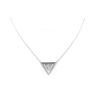 Collier Silver Pop Triangle Argent 925/000