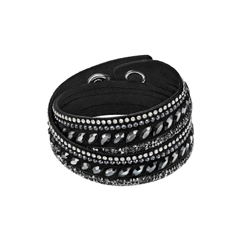 Bracelet Swarovski Slake Pulse Noir 5225974