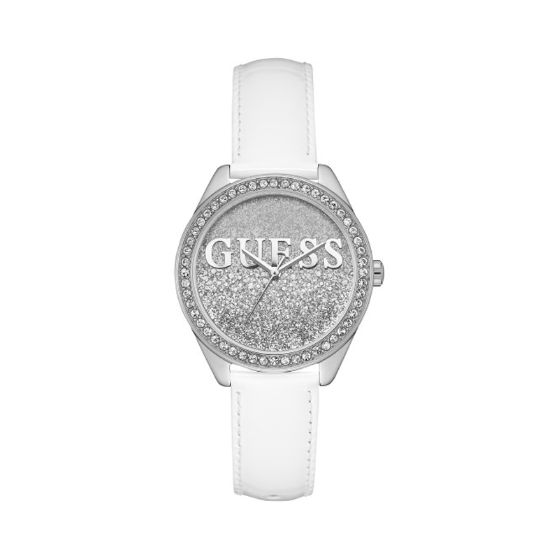 cheapest price no sale tax cute cheap Montre Guess Glitter Girl cadran pailleté W0823L1