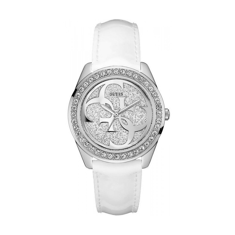 exclusive deals designer fashion info for Montre Femme Guess G Twist blanche pailletée W0627L4