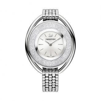 Montre Swarovski Crystalline Oval bracelet acier argenté 5181008