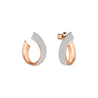 Boucles d'oreilles Swarovski Exist Small doré rose 5192261