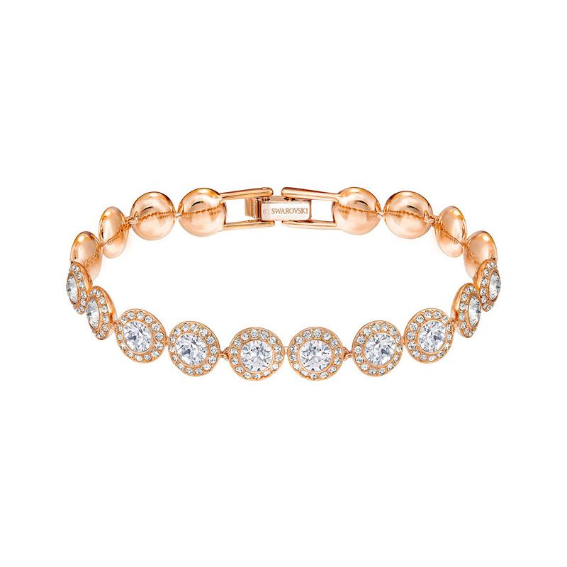Bracelet Swarovski Angelic doré rose 5240513