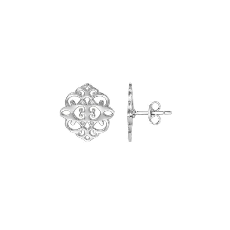 Boucles d'oreilles Amporelle motifs arabesques