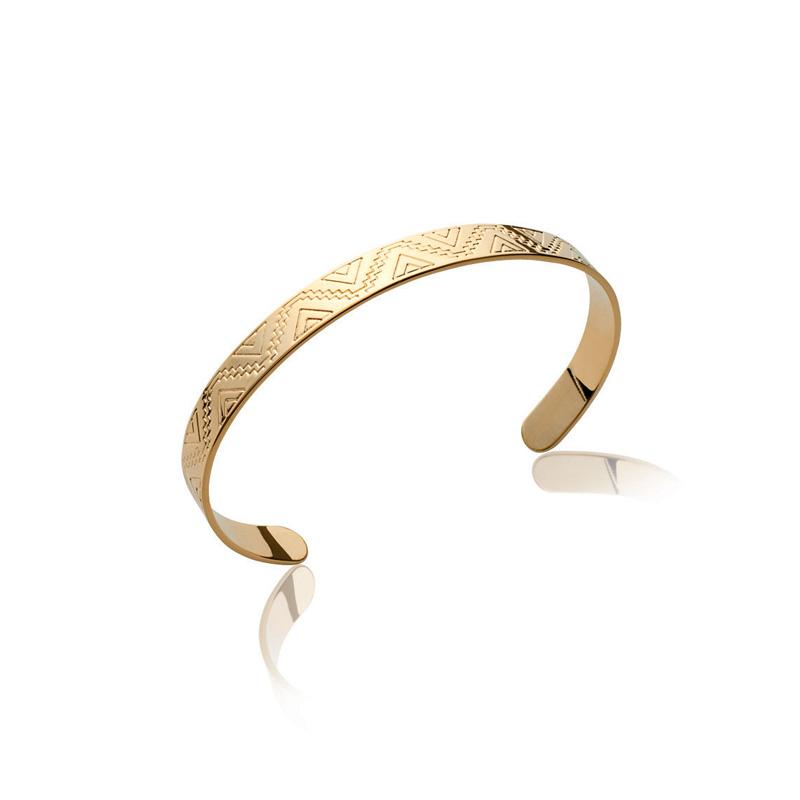 bracelet femme or large