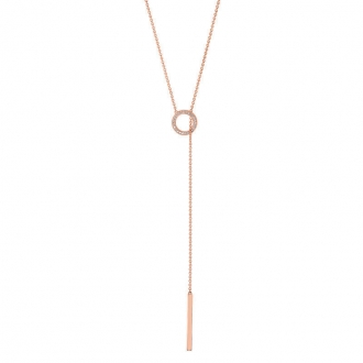 Collier EOL New Minimale plaqué or