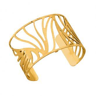 Bracelet Les Georgettes Perroquet Large finition or satiné 702616201F2000