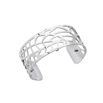 Bracelet manchette Les Georgettes Fougeres Medium finition argent brillant 70284081600000