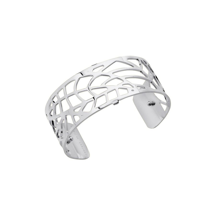 Bracelet manchette Les Georgettes Fougeres Medium finition argent brillant  70284081600000. Loading zoom