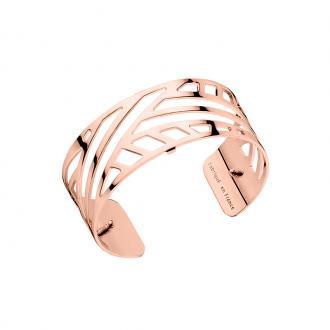 Bracelet jonc Les Georgettes Ruban Medium finition or rose brillant 70285684000000