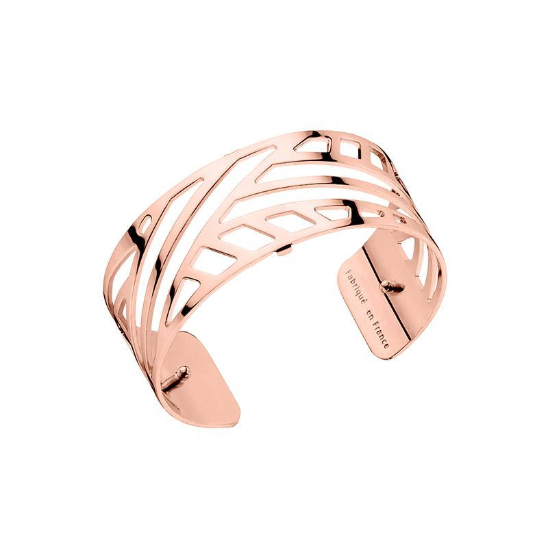 Bracelet jonc Les Georgettes Ruban Medium finition or rose brillant  70285684000000. Loading zoom