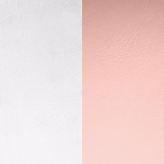 Cuir Les Georgettes Large Rose clair/Gris clair