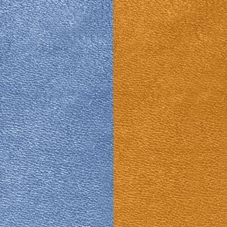 Cuir Les Georgettes Large Bleu denim/Canyon