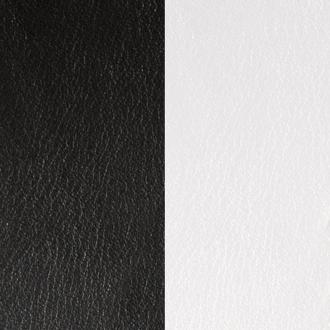 Cuir Les Georgettes Large Noir/Blanc