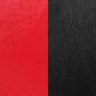 Cuir Les Georgettes Large Rouge verni/Noir