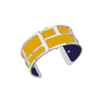 Cuir pour bracelet 25 mm Les Georgettes Sun/Marine 702755199A4000
