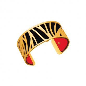 Cuir pour bracelet 25 mm Les Georgettes Rouge verni/Noir 702755199AO000