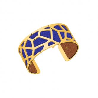 Cuir pour bracelet 25 mm Les Georgettes Bleu denim/Canyon 702755199M5000