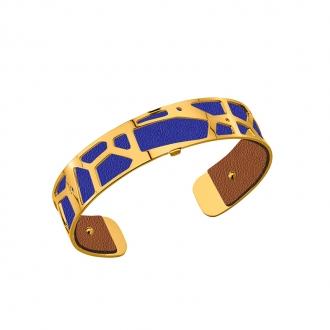 Cuir pour bracelet 14 mm Les Georgettes Bleu denim/Canyon 702145899M5000