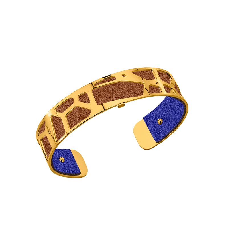 Cuir Les Georgettes Small Bleu denim/Canyon