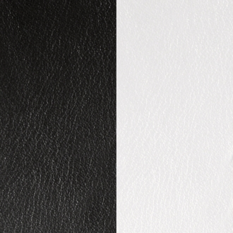 Cuir Les Georgettes Small Noir/Blanc