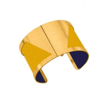 Cuir pour bracelet 40 mm Les Georgettes Sun/Marine 702145799A4000