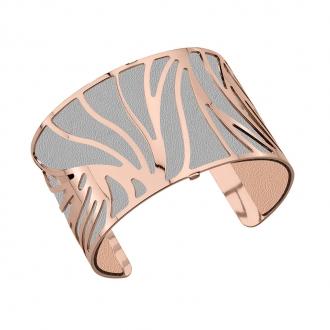 Cuir pour bracelet 40 mm Les Georgettes Rose clair/Gris clair 702145799MP000