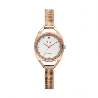 Montre Go Girl Only dorée rose maille milanaise 695984