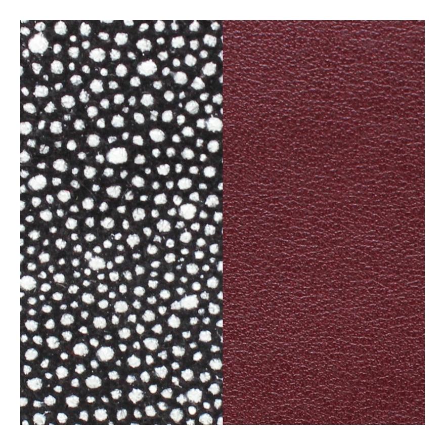 cuir les georgettes medium effet galuchat lie de vin 702755199al000 pour. Black Bedroom Furniture Sets. Home Design Ideas