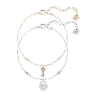 Bracelets Swarovski Whishes cadenas et clé 5272251