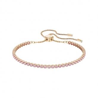 Bracelet Swarovski Subtel doré rose et cristal rose 5274312