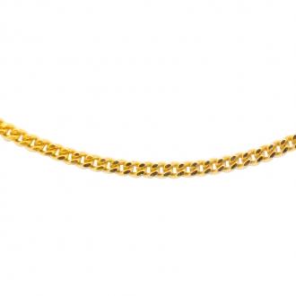 Chaine Carador femme or jaune 375/000 45 cm