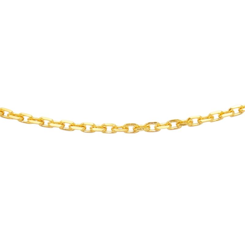 Chaine Carador Or jaune 375/000 50 cm