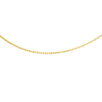 Collier Carador Or jaune 375/000 45 cm