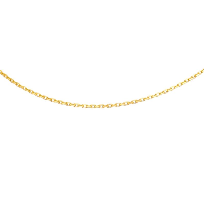 Collier Carador Or jaune 375/000 45 cm
