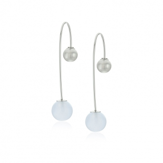 Boucles d'oreilles pendantes Skagen Sea Glass SKJ0843040