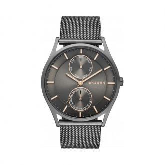 Montre Homme Skagen Holst acier gris SKW6180