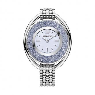 Montre Femme Swarovski Crystalline Oval cadran bleu 5263904
