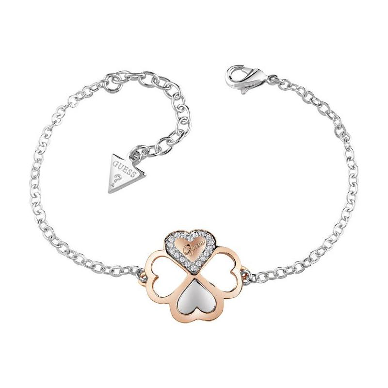 bracelet guess one of a kind tr fle dor rose ubb83002 s pour femme. Black Bedroom Furniture Sets. Home Design Ideas