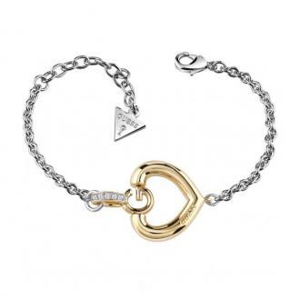 Bracelet Guess Gisèle cœur doré UBB83007-S