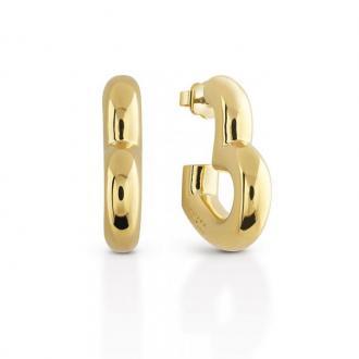 Boucles d'oreilles Guess Gisèle cœur doré UBE83010