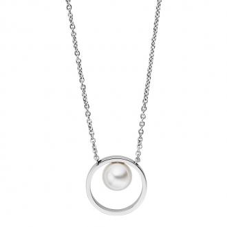 Collier Skagen Agnethe perle blanche SKJ0973040