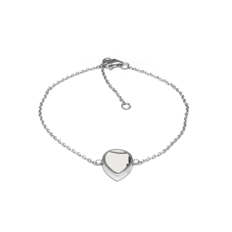 Bracelet Silver Pop motif goutte en Argent 925/000 et Howlite